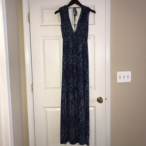 Abbeline Paisley Maxi Dress